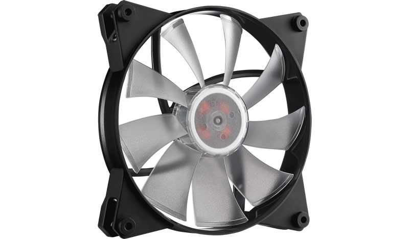 COOLER MASTER MASTERFAN PRO 140 AIR FLOW RGB COMPUTER CASE FAN