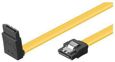 MICROCONNECT SAT15003A1C6L 0.3M YELLOW SATA CABLE