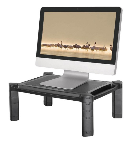 NEWSTAR NSMONITOR20 LAPTOP OR MONITOR STAND/RISER, HEIGHT ADJUSTABLE