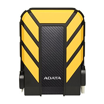ADATA HD710 PRO 1000GB BLACK, YELLOW EXTERNAL HARD DRIVE