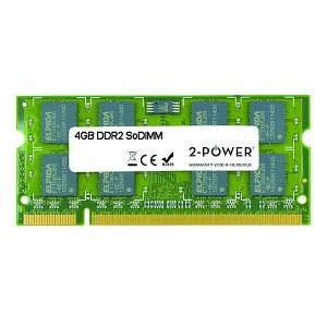 2-POWER MEM4303A 4GB DDR2 800MHZ SODIMM MEMORY MODULE