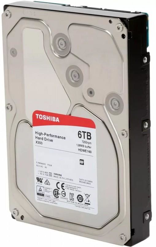TOSHIBA X300 6144GB SERIAL ATA III INTERNAL HARD DRIVE