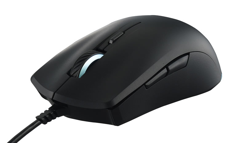 COOLER MASTER MASTERMOUSE LITE S USB OPTICAL 2000DPI AMBIDEXTROUS BLACK MICE