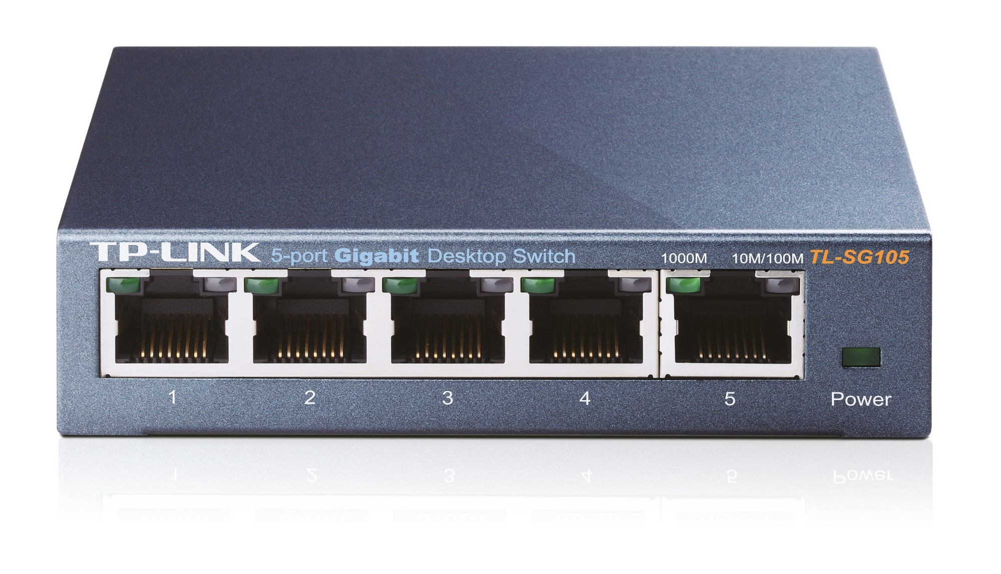 TP-LINK TL-SG105 UNMANAGED NETWORK SWITCH BLACK