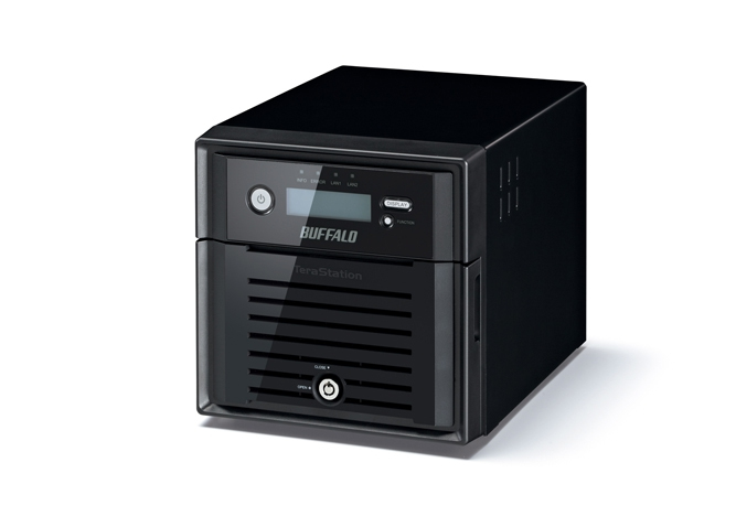 BUFFALO WS5200DR0402W2EU TERASTATION 5200DRW2 4TB STORAGE SERVER ETHERNET LAN BLACK