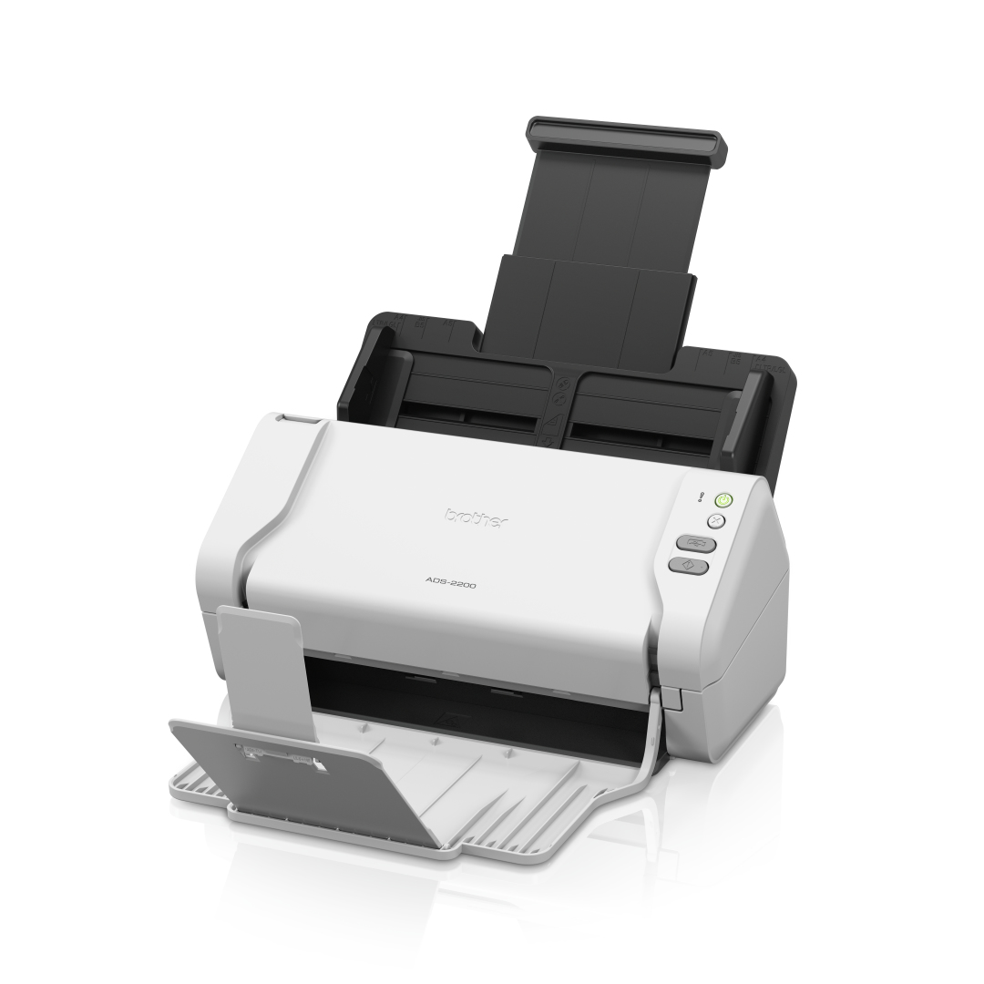 BROTHER ADS-2200 ADF SCANNER 600 X 600DPI A4 BLACK, WHITE