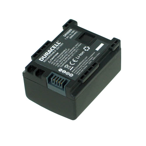 DURACELL CAMCORDER BATTERY 7.4V 900MAH 6.7WH LITHIUM-ION (LI-ION) RECHARGEABLE