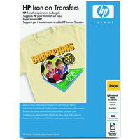 HP C6050A IRON-ON TRANSFERS-12 SHT - A4 210 X 297 MM