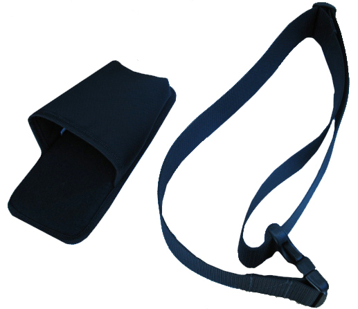 ZEBRA POUCH NYLON WITH SWIVEL AND BELT LOOP