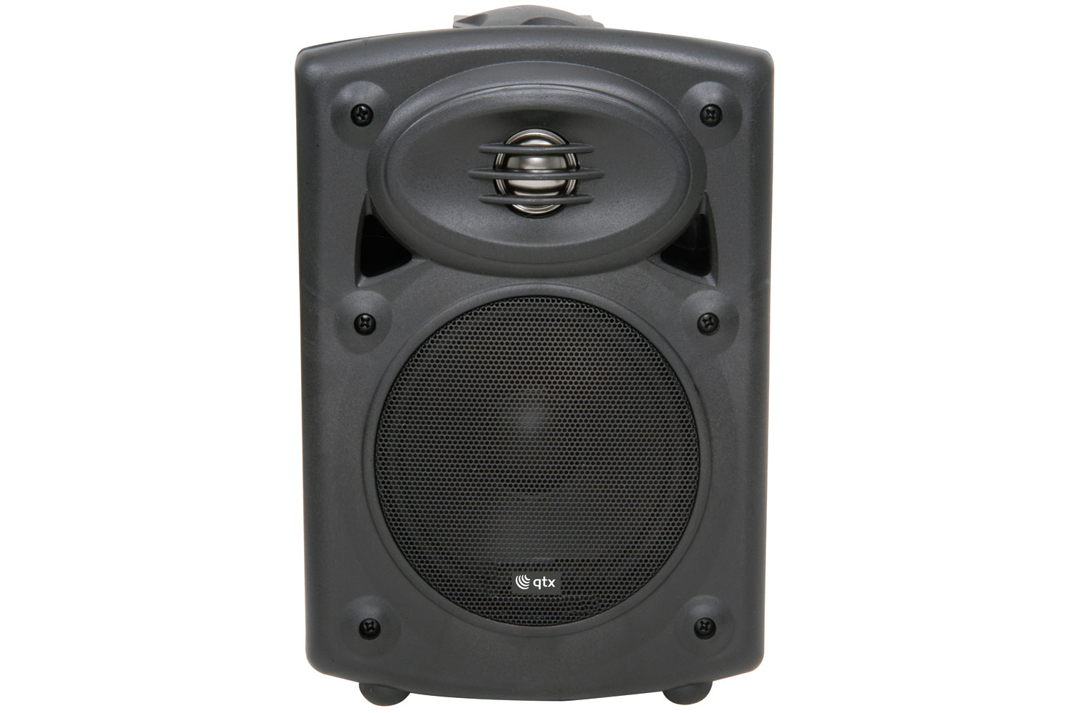 QTX 178.200UK AMPLIFIED STEREO SPEAKER SYSTEM