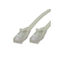 MICROCONNECT UTP625BOOTED 25M CAT6 U/UTP (UTP) GREY NETWORKING CABLE
