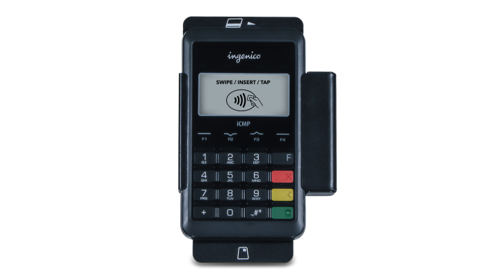 ELO TOUCH SOLUTIONS SOLUTION EMV INDOOR ACTIVE HOLDER BLACK