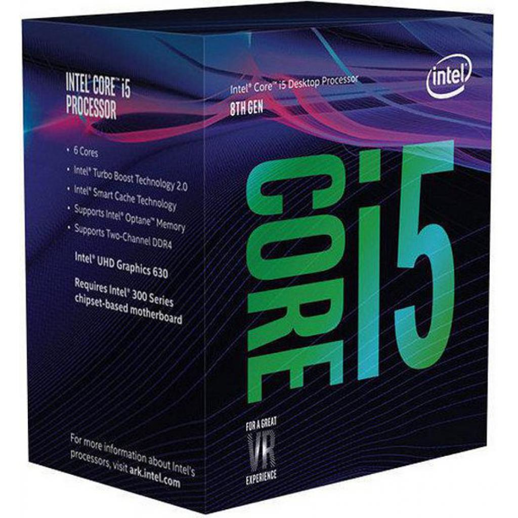 INTEL CORE I5-8600K PROCESSOR (9M CACHE, UP TO 4.30 GHZ) 3.6GHZ 9MB SMART CACHE BOX