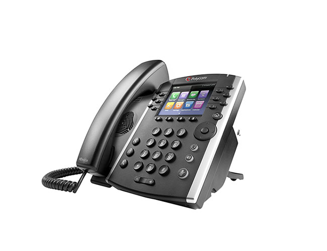 POLYCOM VVX 401 WIRED HANDSET 12LINES TFT BLACK IP PHONE