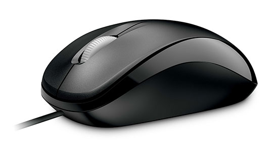 MICROSOFT 4HH-00002 COMPACT OPTICAL MOUSE 500 F - BUSINESS, USB