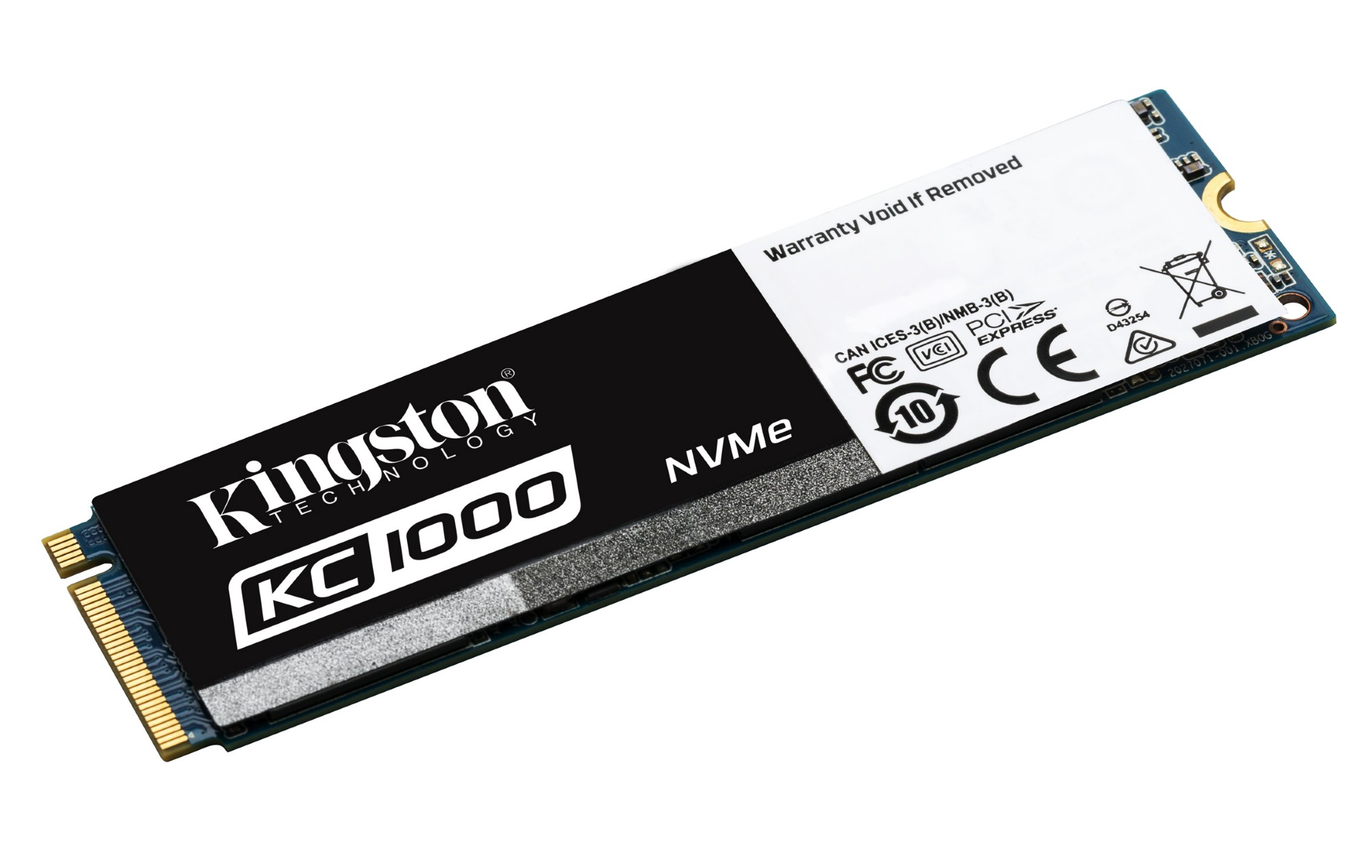KINGSTON KC1000 960GB M.2 PCI EXPRESS 3.0