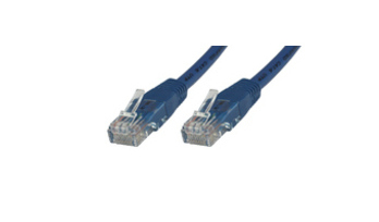MICROCONNECT UTP630B CAT6 U/UTP 30M (UTP) BLUE NETWORKING CABLE