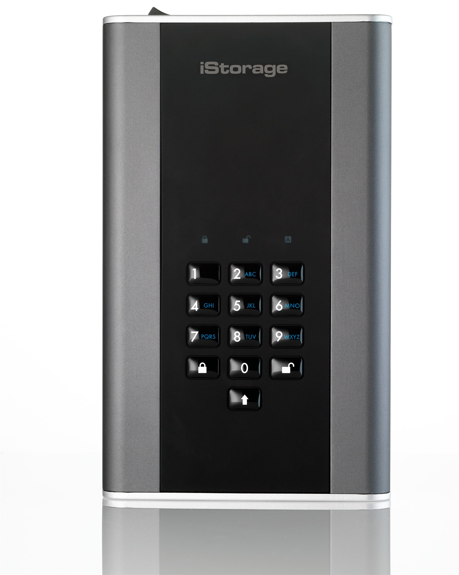 ISTORAGE IS-DT2-256-8000-C-G DISKASHUR DT 2 8000GB BLACK, GRAPHITE EXTERNAL HARD DRIVE