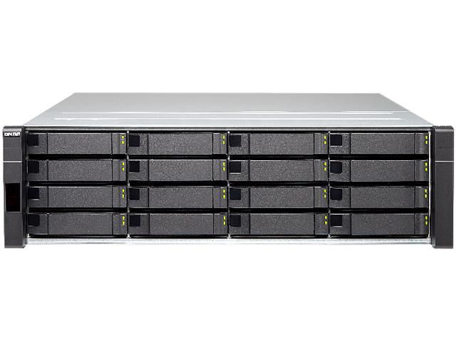 QNAP ES1640DC NAS RACK (3U) ETHERNET LAN BLACK