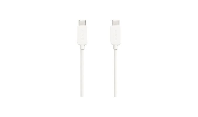SONY CP-CC100 1M USB C MALE WHITE CABLE