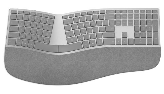 MICROSOFT 3RA-00005 BLUETOOTH GREY KEYBOARD