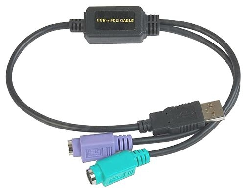 DATALOGIC ADP-203 WEDGE TO USB ADAPTER 0.5M BLACK CABLE