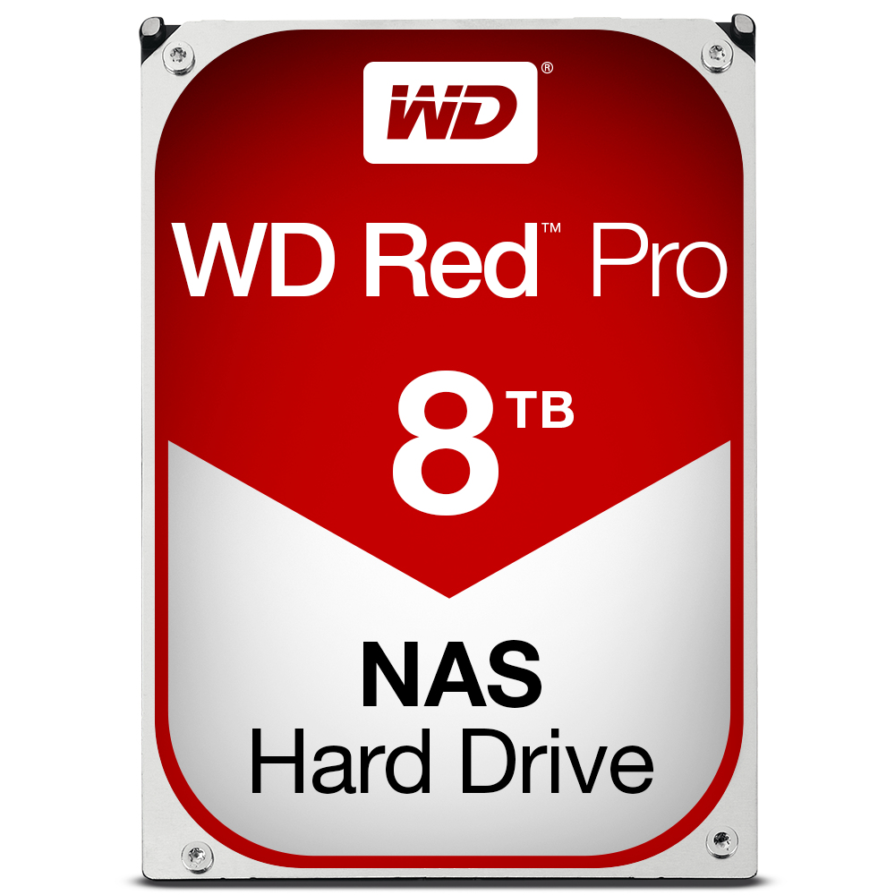 WESTERN DIGITAL RED PRO 8000GB SERIAL ATA III INTERNAL HARD DRIVE