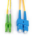 MICROCONNECT FIB841001 1M SC LC YELLOW FIBER OPTIC CABLE