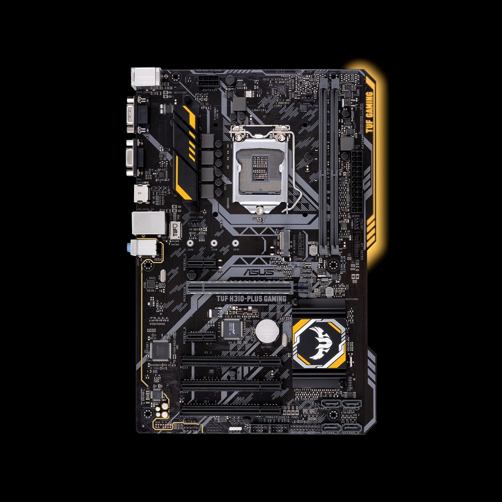 ASUS TUF H310-PLUS GAMING INTEL H310 LGA 1151 (SOCKET H4) ATX