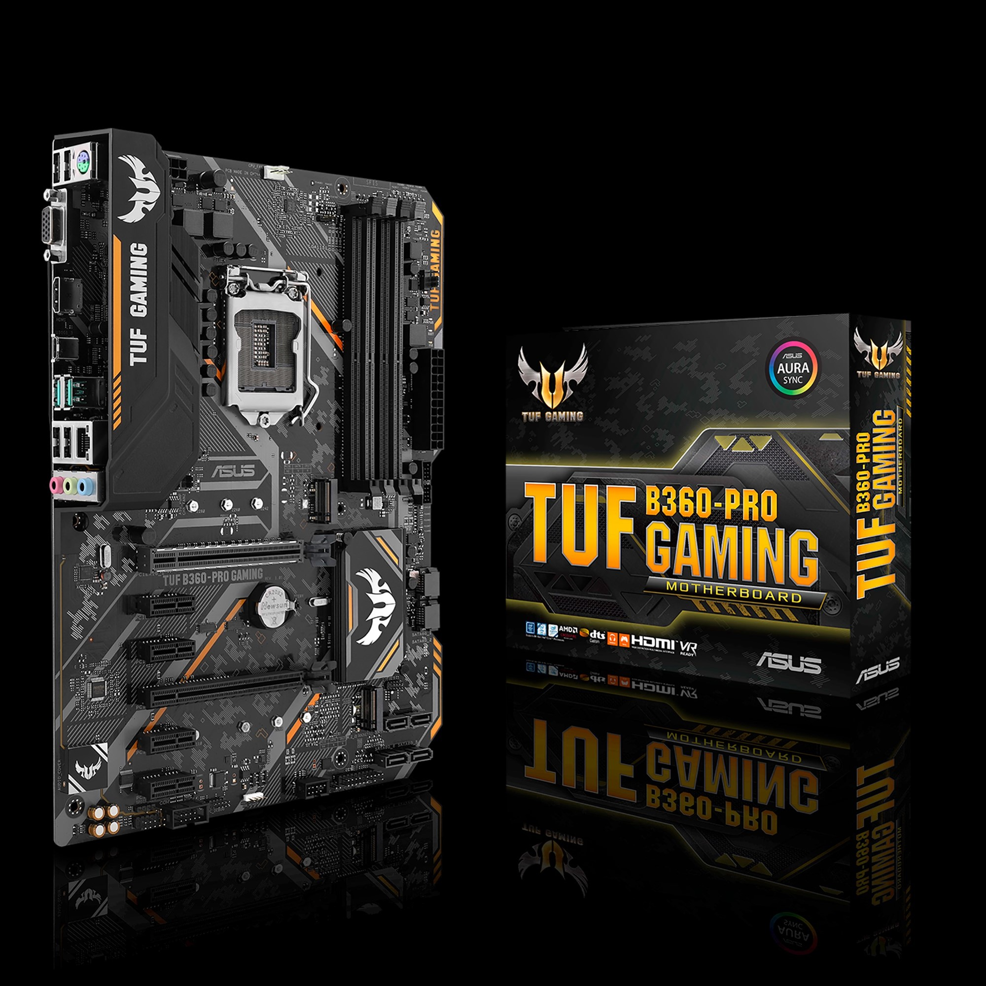 ASUS TUF B360-PRO GAMING INTEL B360 LGA 1151 (SOCKET H4) ATX