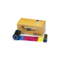ZEBRA 800350-350EM 200PAGES BLACK, CYAN, MAGENTA, YELLOW PRINTER RIBBON