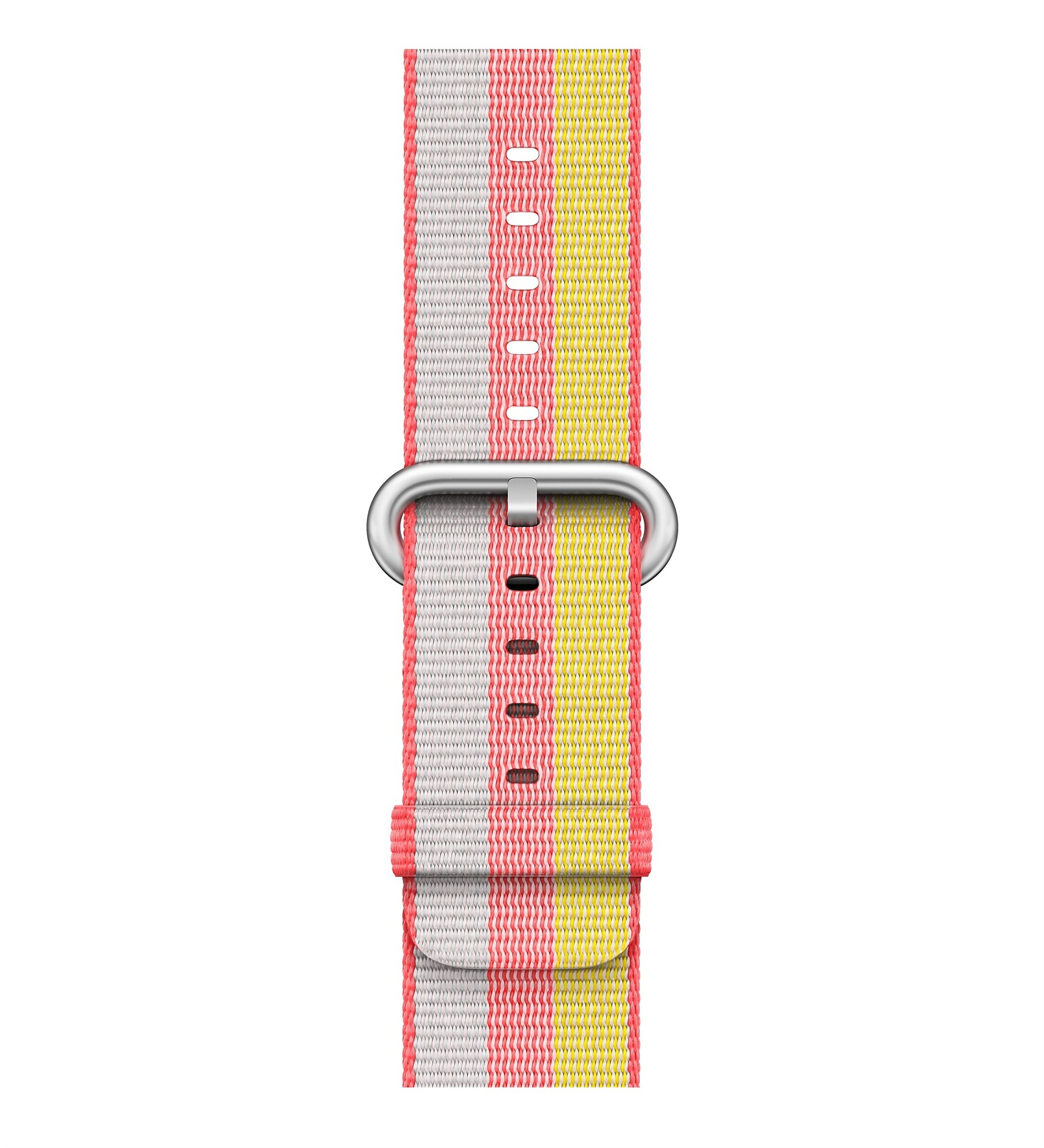 APPLE 38MM RED WOVEN NYLON