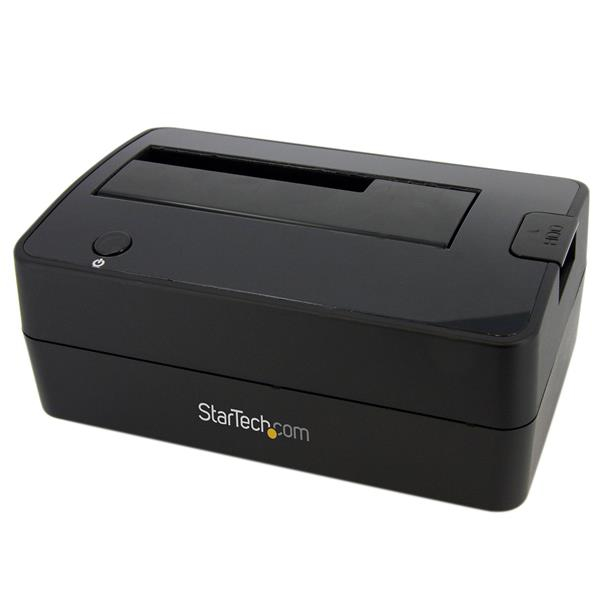 STARTECH SATDOCKU3S SUPERSPEED USB 3.0 TO SATA HARD DRIVE DOCKING STATION FOR 2.5 - 3.5 HDD DOCK