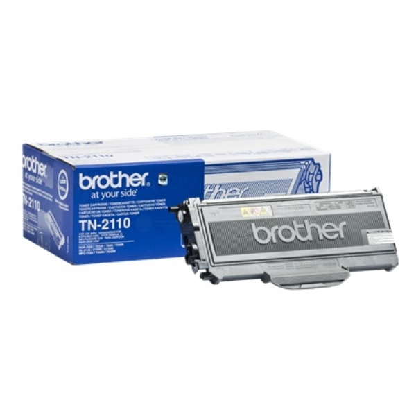 BROTHER TN-2110 TONER BLACK, 1.5K PAGES