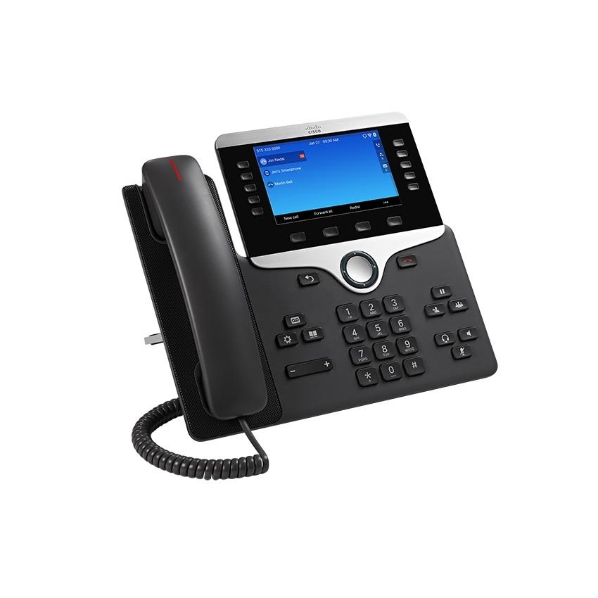 CISCO CP-8861-K9= 8861 WI-FI BLACK, SILVER IP PHONE