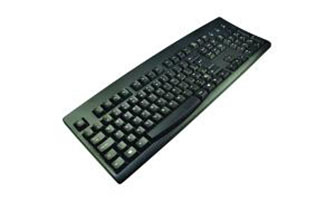 2-POWER KYBAC260-UP-BKPO USB POLISH KEYBOARD