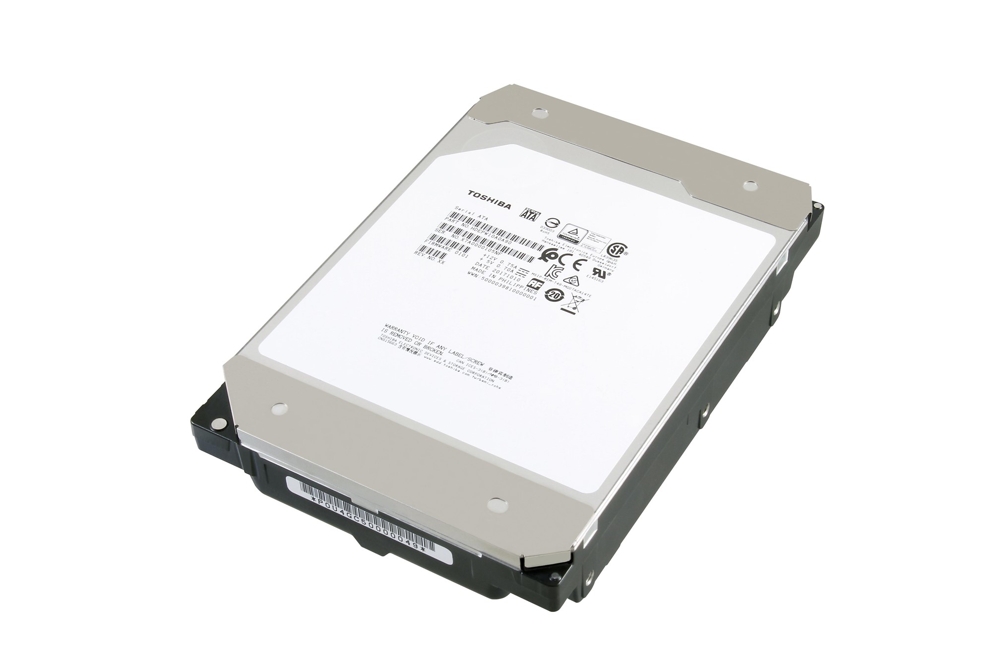 TOSHIBA MG07ACA12TE HDD 12000GB SERIAL ATA INTERNAL HARD DRIVE