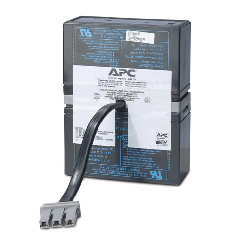 APC REPLACEMENT BATTERY CARTRIDGE #33 SEALED LEAD ACID (VRLA) RECHARGEABLE