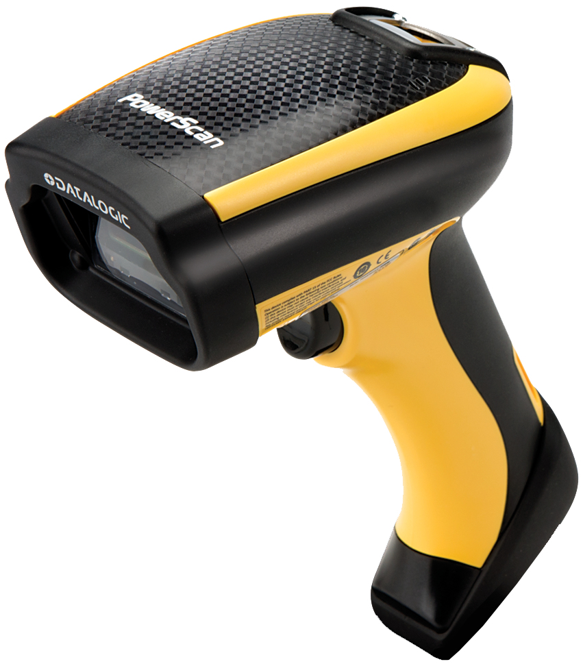 DATALOGIC POWERSCAN PD9500 HANDHELD 1D/2D PHOTO DIODE BLACK,YELLOW