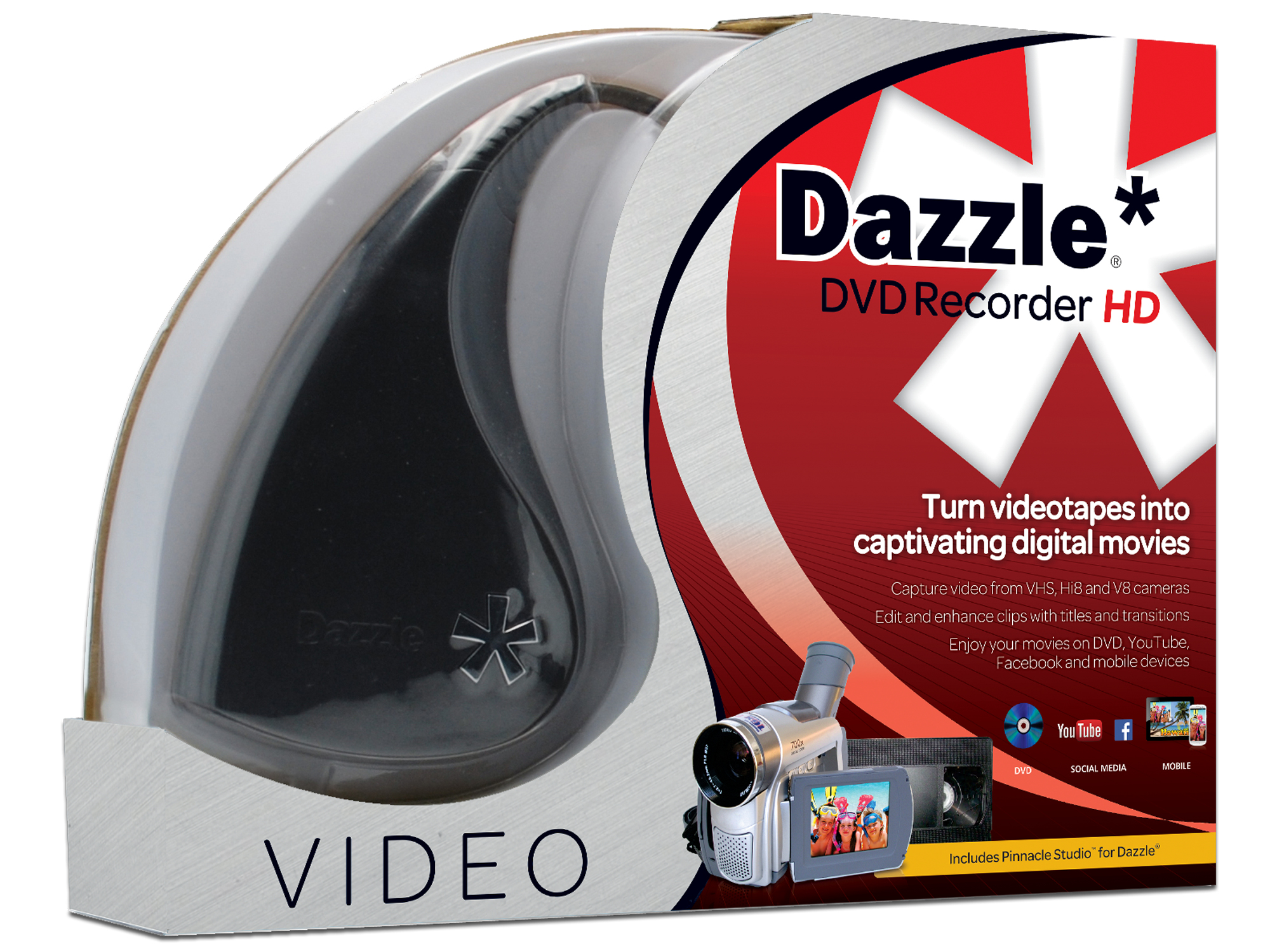 COREL DDVRECHDML DAZZLE DVD RECORDER HD, ML