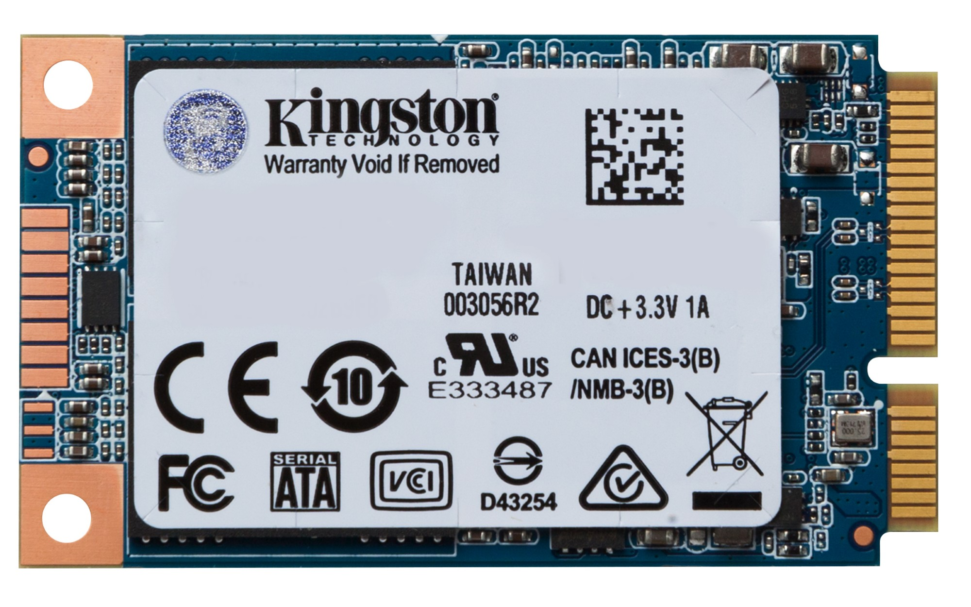 KINGSTON UV500 SSD 120GB MSATA SERIAL ATA III