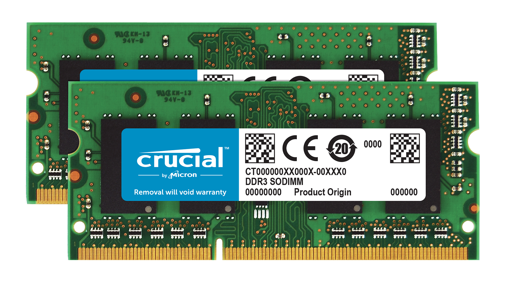 CRUCIAL CT2KIT51264BF160B 8GB PC3-12800 KIT DDR3 1600MHZ MEMORY MODULE