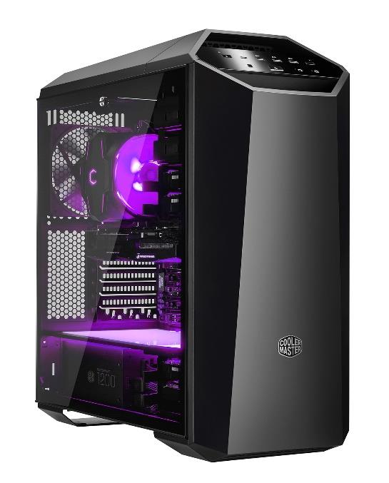 COOLER MASTER MASTERCASE MC500M MIDI-TOWER BLACK, GREY COMPUTER CASE
