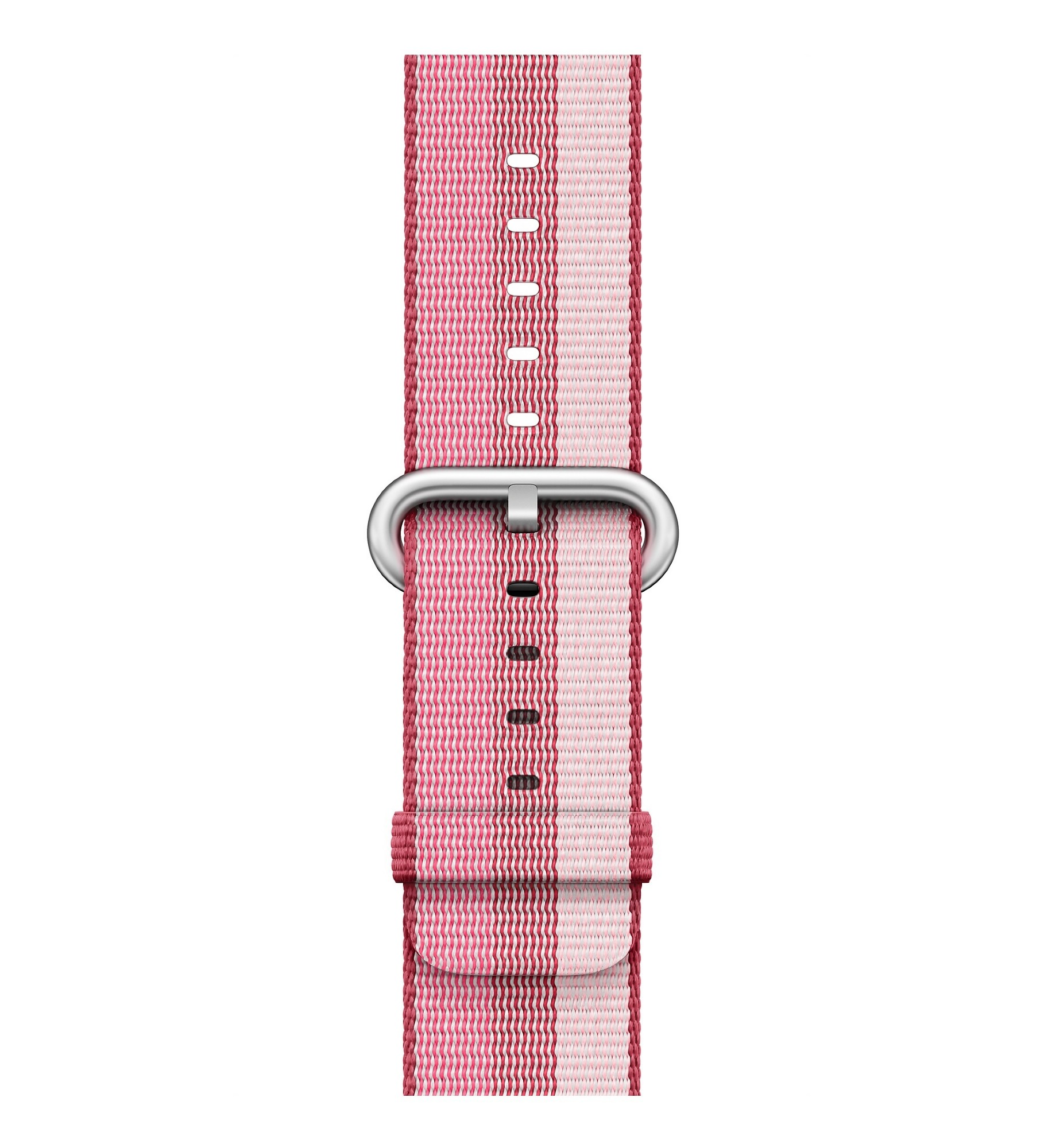 APPLE 42MM BERRY WOVEN NYLON
