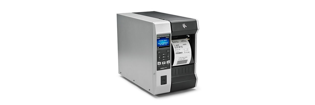 ZEBRA ZT610 THERMAL TRANS 600 X 600DPI LABEL PRINTER
