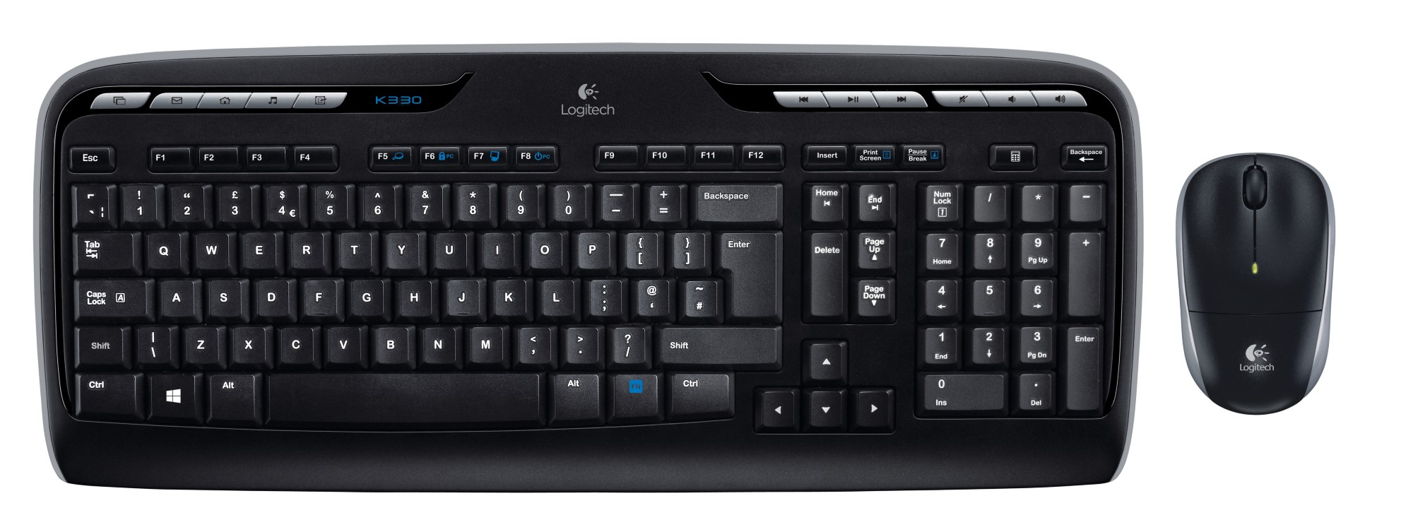 LOGITECH LGT-MK330-US MK330 WIRELESS KEYBOARD WITH MOUSE