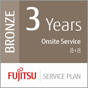 FUJITSU 3 YEARS ON-SITE SERVICE 8+8