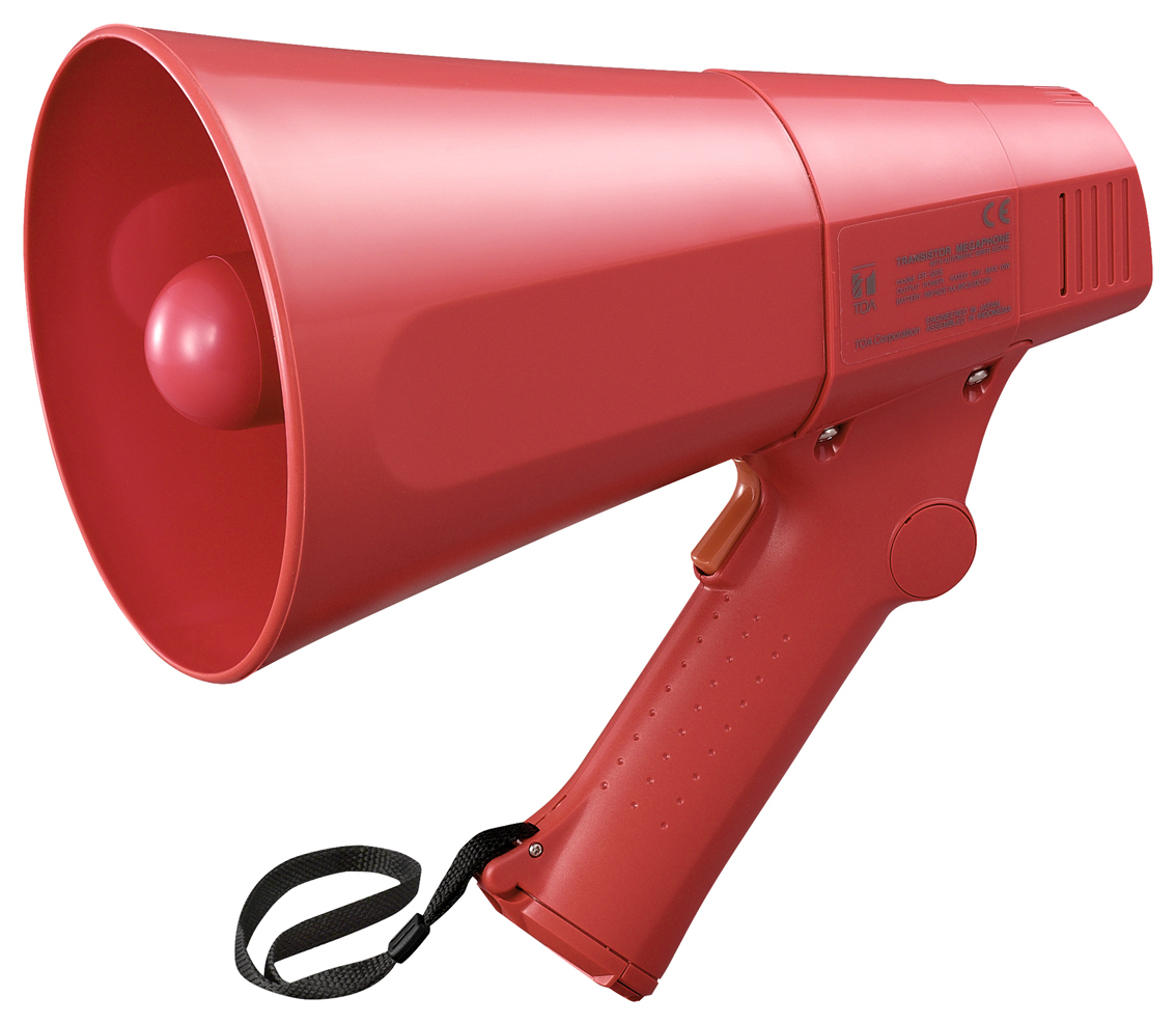TOA ER-520S OUTDOOR 10W RED MEGAPHONE