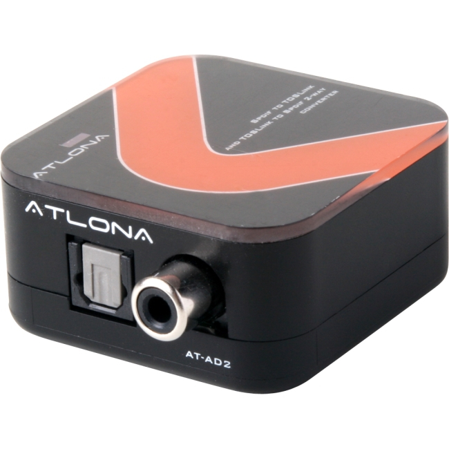 ATLONA AT-AD2 AT-AD-2 TOSLINK - COAXIAL AUDIO CONVERTER