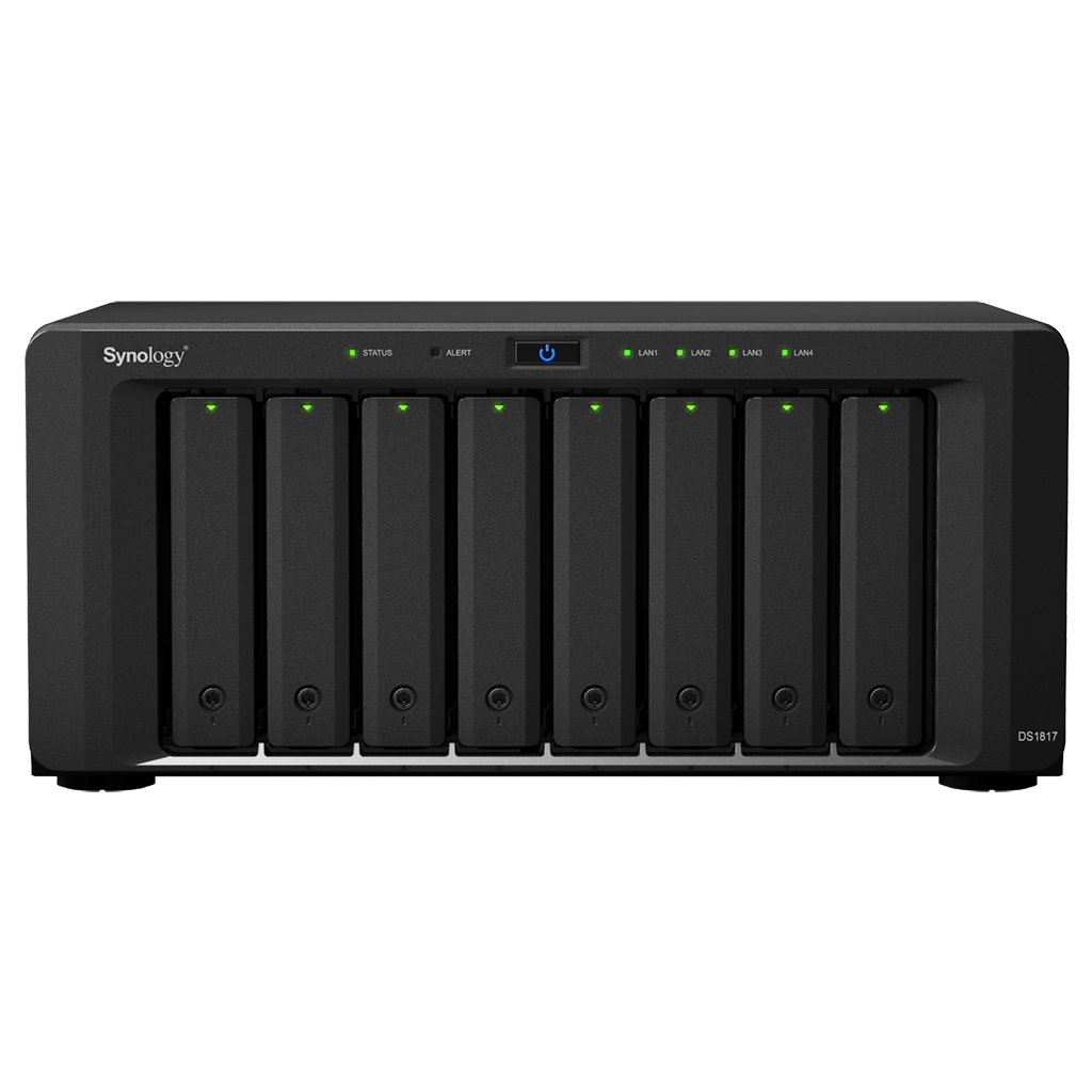 SYNOLOGY DS1817/32TB-REDPRO 8 BAY NAS